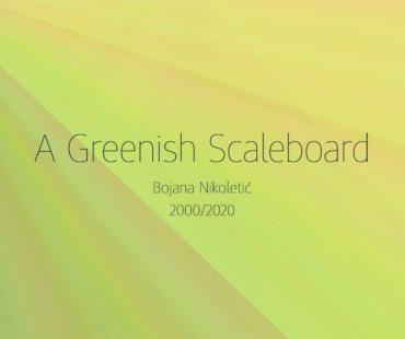 Zelenkasta poleđina/A Greenish Scaleboard